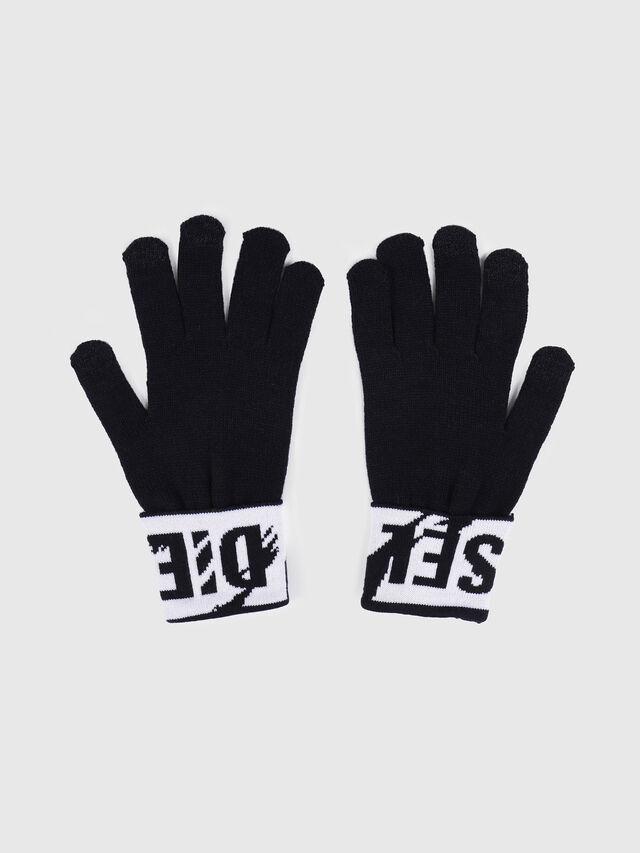 Diesel - K-SCREEX, Noir/Blanc - Bérets, chapeaux et gants - Image 2