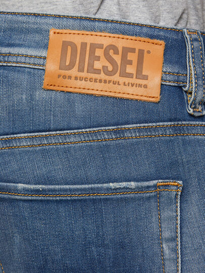 Diesel - Sleenker 009FC, Bleu moyen - Jeans - Image 4