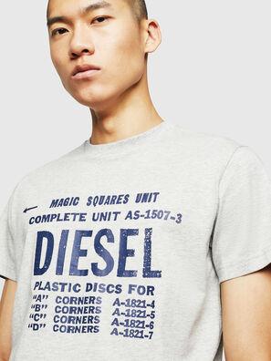 T-DIEGO-B6, Gris Clair - T-Shirts