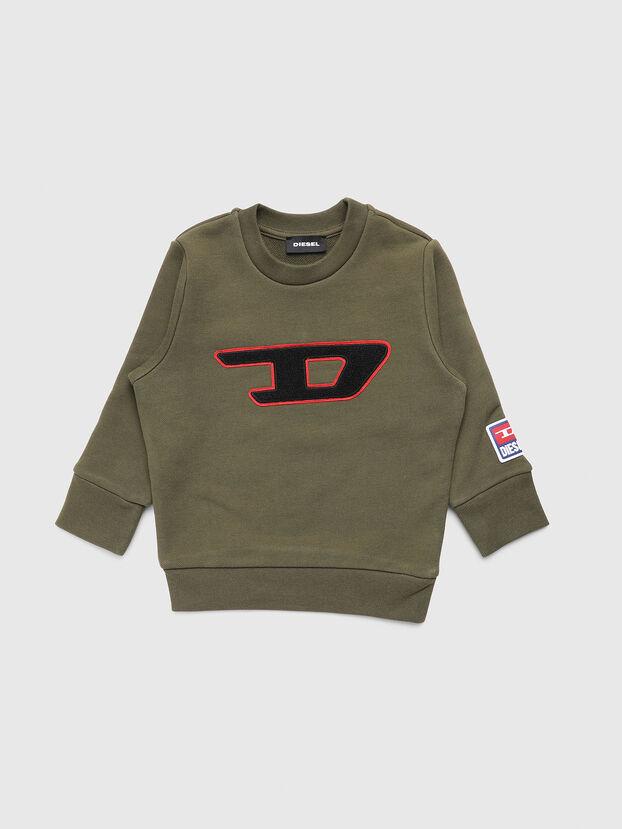 SCREWDIVISIONB-D-R, Vert Militaire - Pull Cotton