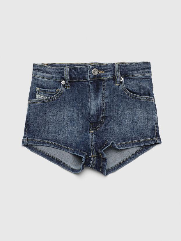PGINGHER, Bleu Foncé - Shorts