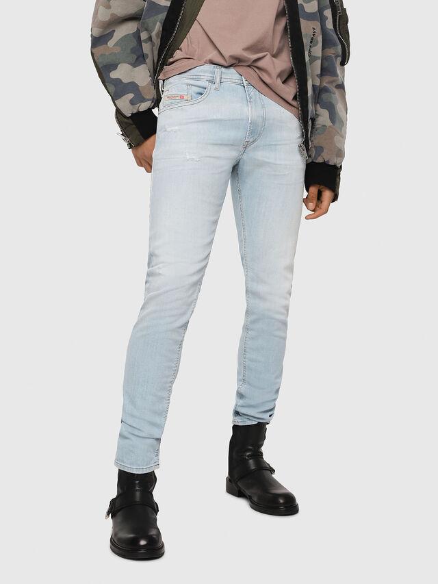 Diesel - Thommer 081AR, Bleu Clair - Jeans - Image 1