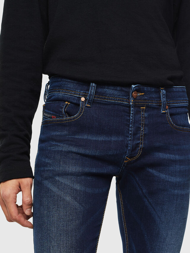 Diesel Sleenker 084RI, Bleu Foncé - Jeans - Image 3