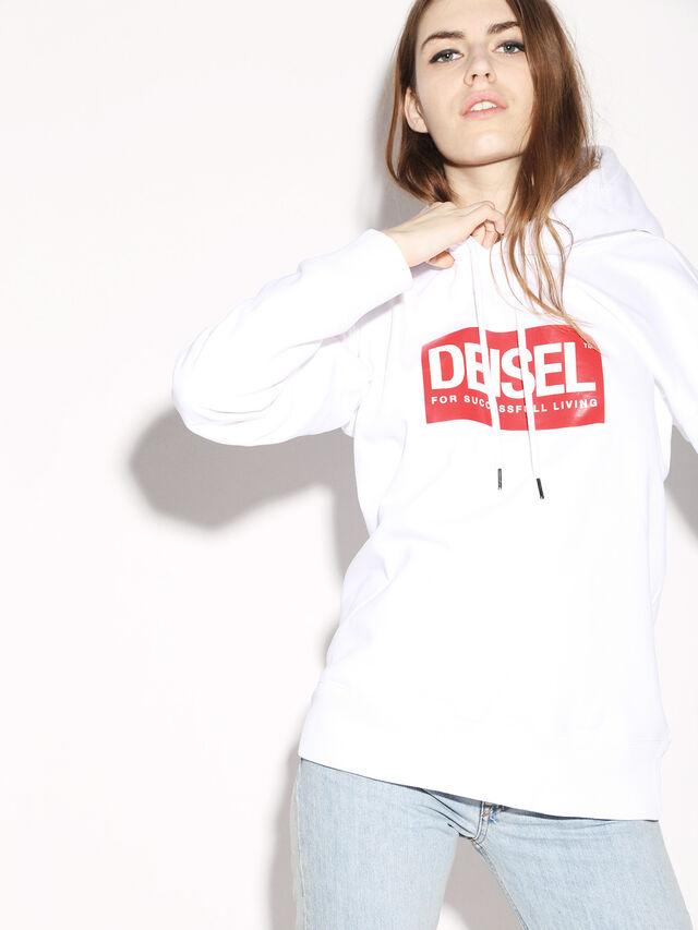 Diesel - DEIS-SHOOD, Blanc - Pull Cotton - Image 8