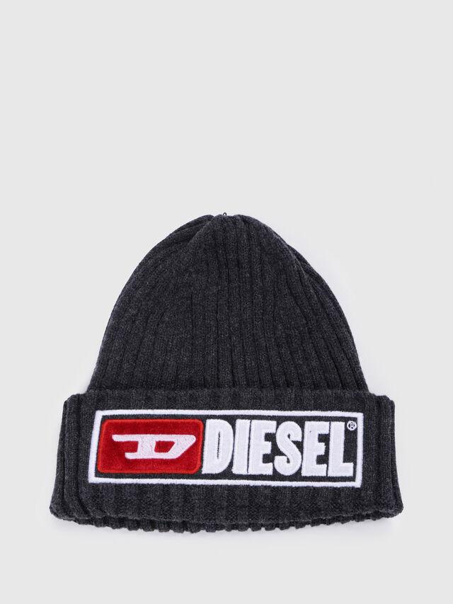 Diesel - K-CODER-B, Noir - Bérets, chapeaux et gants - Image 1