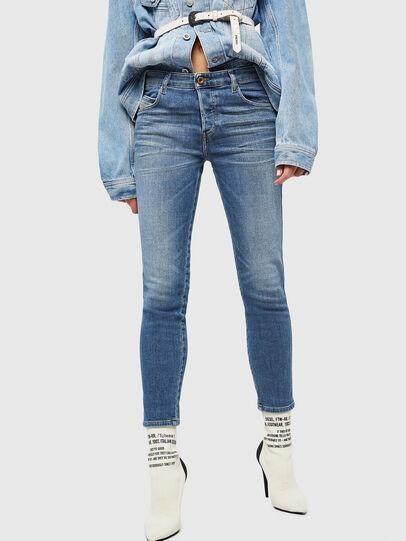 Diesel - Babhila 086AP, Bleu moyen - Jeans - Image 1