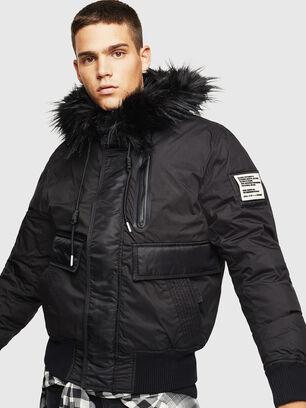 W-BURKISK, Noir - Vestes d'hiver