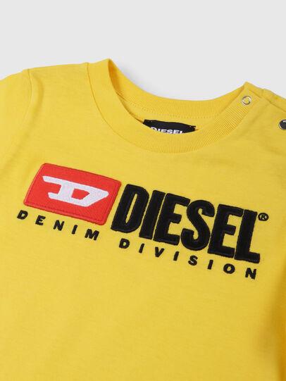 Diesel - TJUSTDIVISIONB, Jaune - T-shirts et Hauts - Image 3