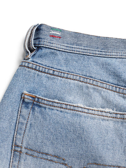 Diesel - D-DEEPCHECKDENIM, Bleu Clair - Pantalons - Image 8