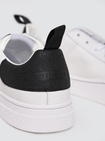 Diesel - S-CLEVER LOW W, Blanc/Noir - Baskets - Image 4