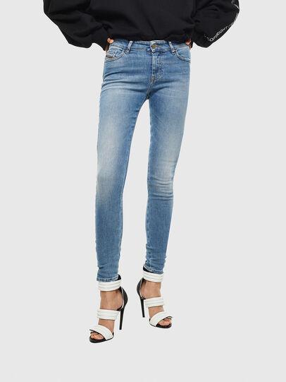 Diesel - Slandy 0095B, Bleu Clair - Jeans - Image 1