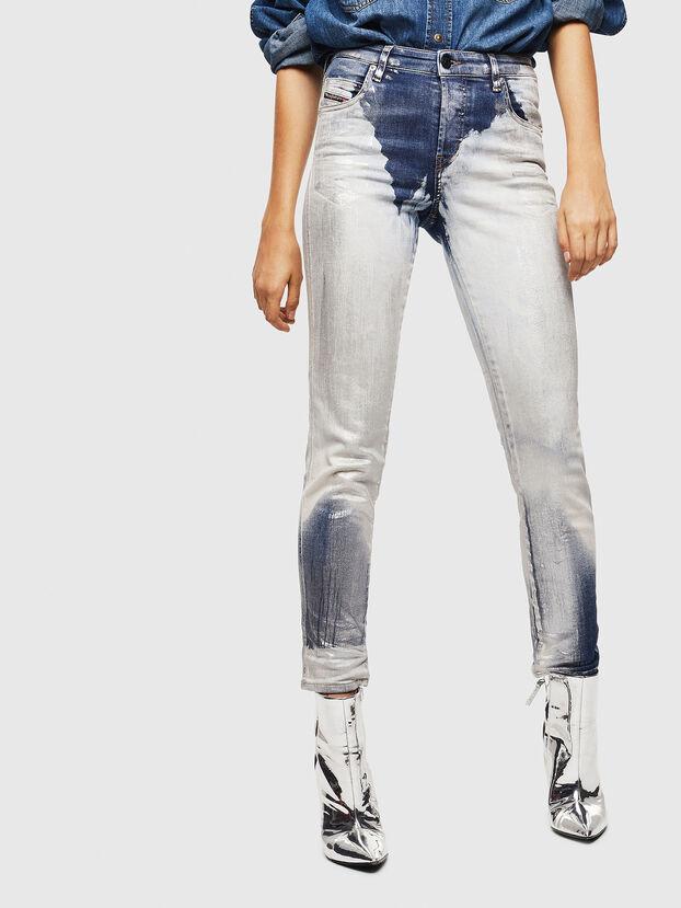 Babhila 0094W, Bleu moyen - Jeans