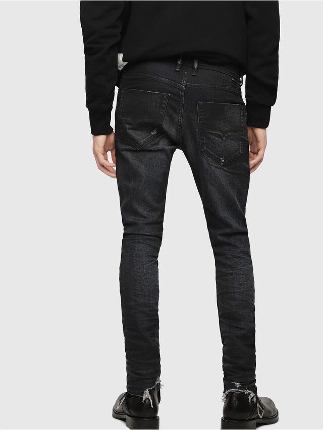 f3456df28324b TEPPHAR 080AD Homme: Slim Jeans Bleu foncé   Diesel