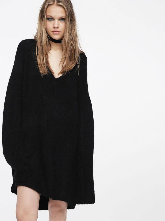 Diesel - M-SOFTY, Noir - Robes - Image 1
