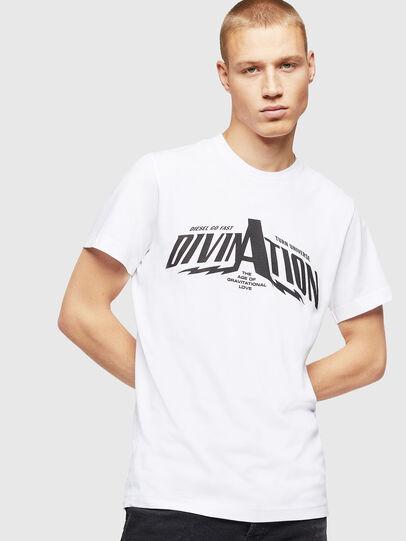 Diesel - T-DIEGO-B16, Blanc - T-Shirts - Image 1