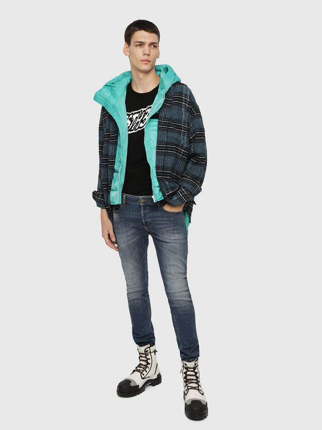 Diesel - Sleenker 082AB, Bleu moyen - Jeans - Image 3