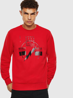 S-GIRK-J2, Rouge - Pull Cotton