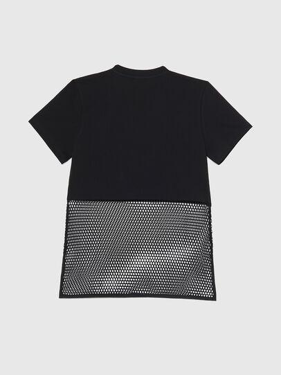 Diesel - BFOWT-BLOKY-P, Noir - T-Shirts - Image 2