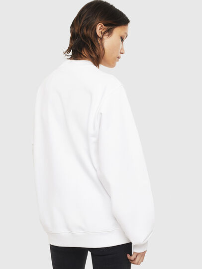 Diesel - F-ANG-S3, Blanc - Pull Cotton - Image 2