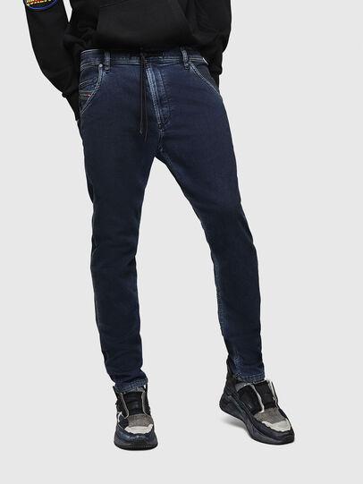 Diesel - Krooley JoggJeans 069HY, Bleu Foncé - Jeans - Image 1