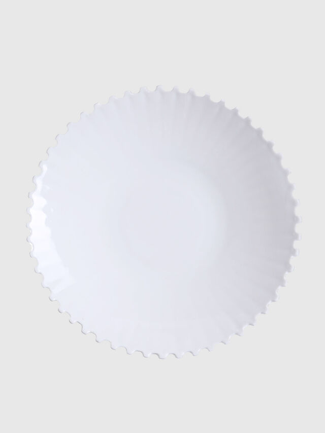 Diesel - 10990 MACHINE COLLEC, Blanc - Assiettes - Image 1