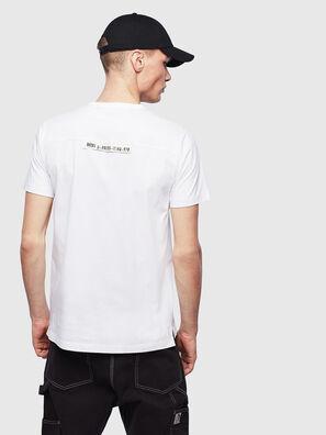 T-RABEN-POCKET, Blanc - T-Shirts