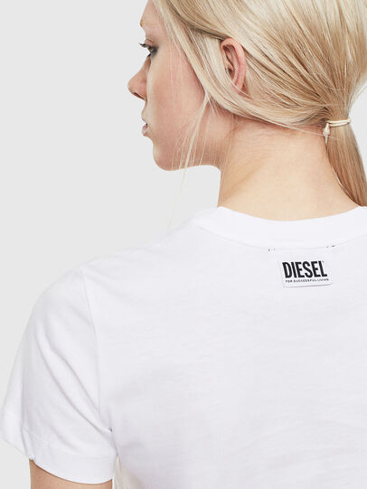 Diesel - T-SILY-S5, Blanc - T-Shirts - Image 3