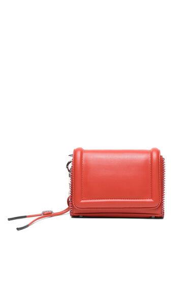 Petite sac à bandoulière zippé en faux nappa