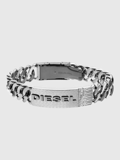 Diesel - DX0326, Gris argenté - Bracelets - Image 1