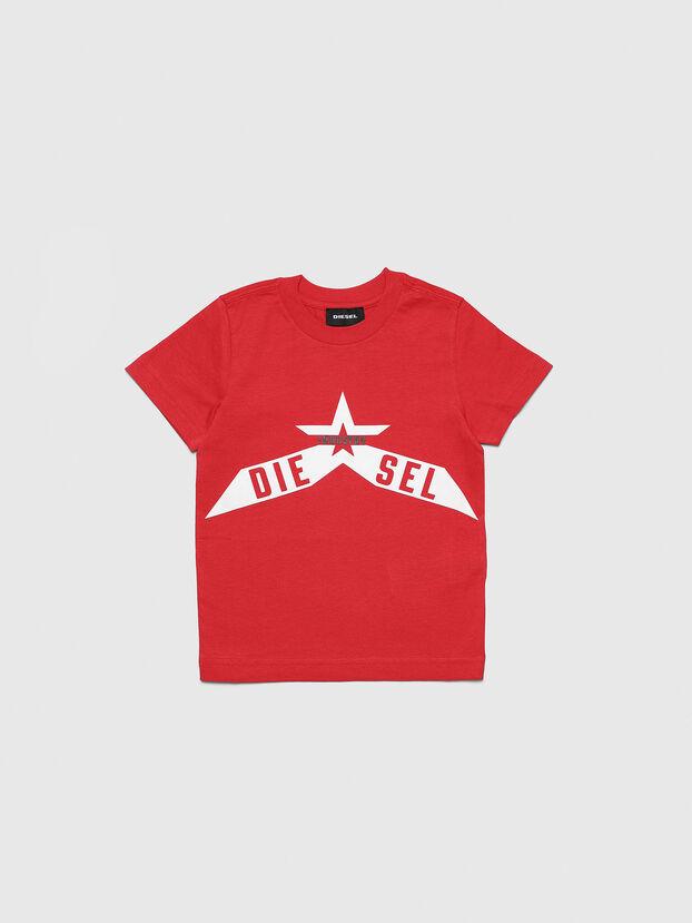 TDIEGOA7B-R, Rouge - T-shirts et Hauts