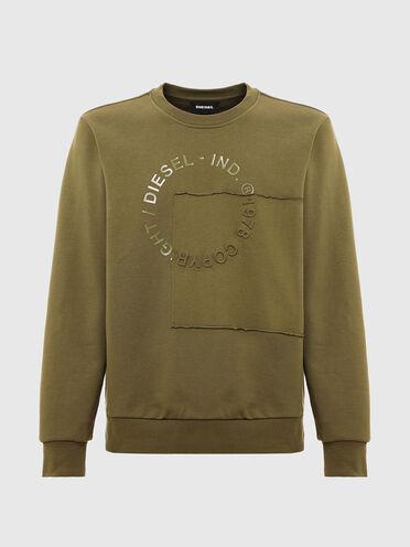 Sweat-shirt avec logoCopyright en patchwork