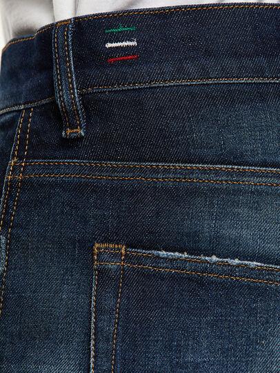 Diesel - D-Vider 0092I, Bleu Foncé - Jeans - Image 5