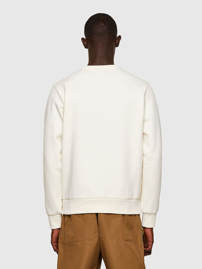 Diesel - S-GIRK-A74, Blanc - Pull Cotton - Image 2