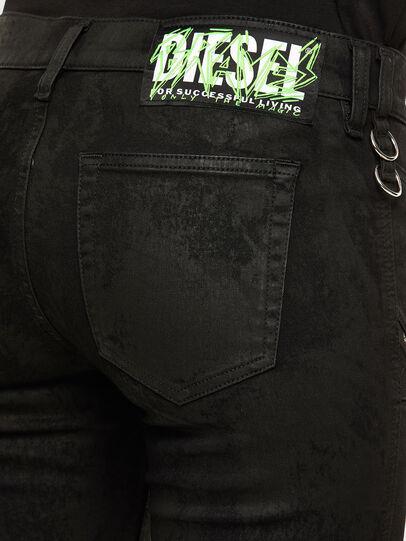Diesel - Slandy 069NG, Noir/Gris foncé - Jeans - Image 5