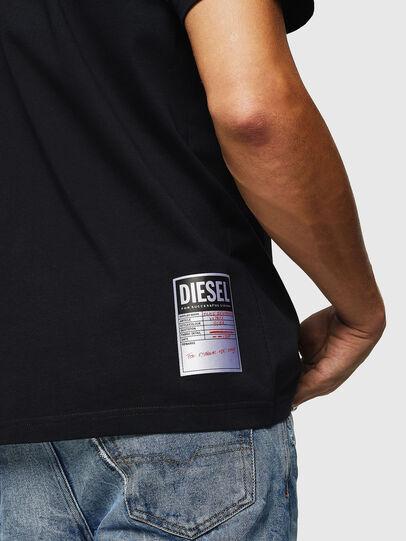 Diesel - T-JUST-B26, Noir - T-Shirts - Image 3