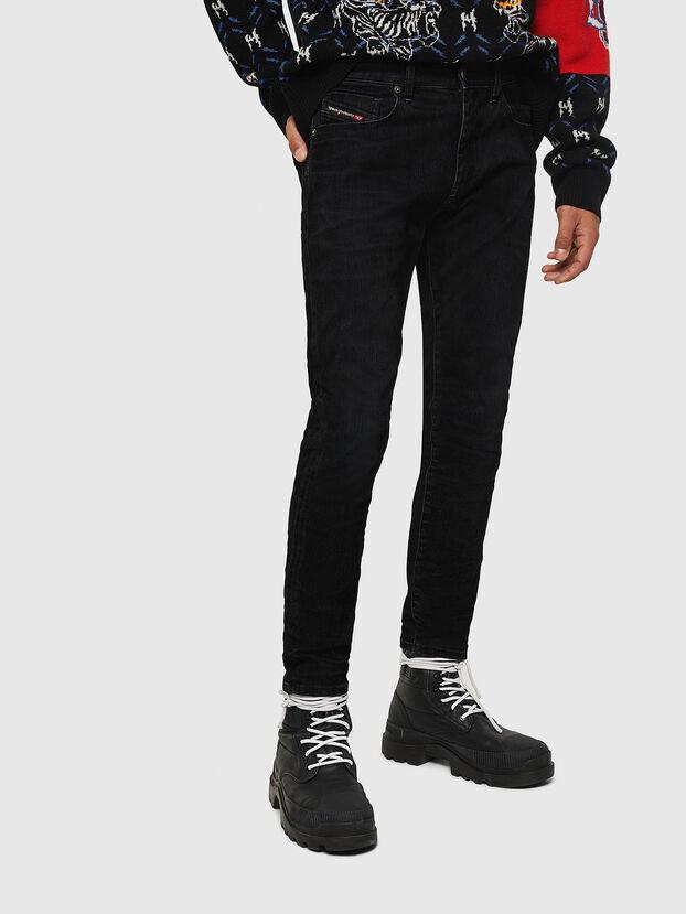 D-Strukt 0091I, Noir/Gris foncé - Jeans