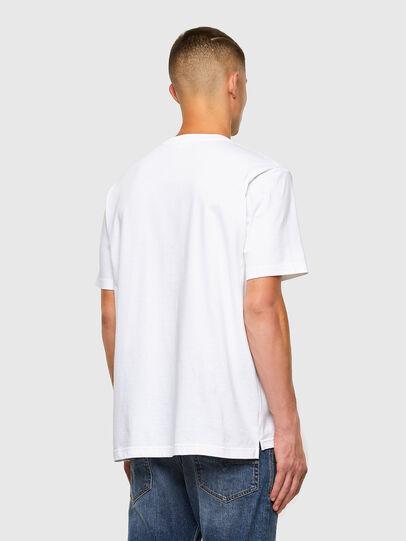 Diesel - T-JUST-SLITS-X85, Blanc - T-Shirts - Image 6