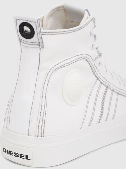 Diesel - S-ASTICO MID LACE, Blanc - Baskets - Image 4