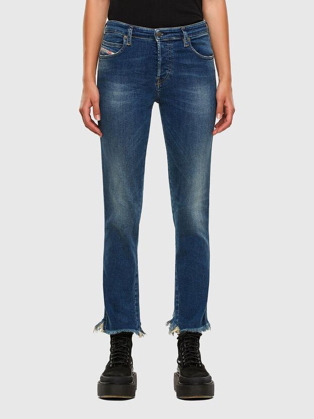 Babhila-Zip 009EZ, Bleu moyen - Jeans