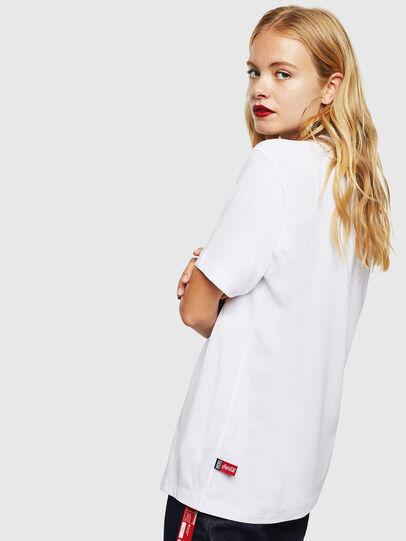 Diesel - CC-T-JUST-COLA, Blanc - T-Shirts - Image 4