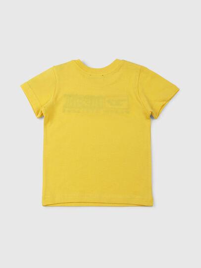 Diesel - TJUSTDIVISIONB, Jaune - T-shirts et Hauts - Image 2