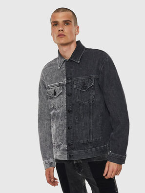 D-POLL, Noir - Vestes en denim