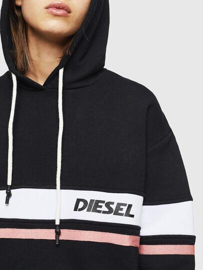 Diesel - UFLT-PHYLO-HOOD, Noir - Pull Cotton - Image 3