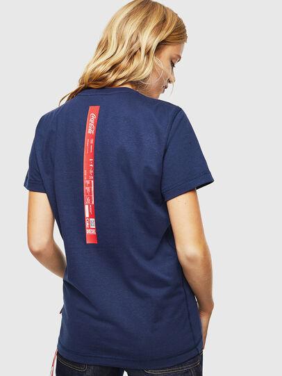 Diesel - CC-T-DIEGO-COLA, Bleu Foncé - T-Shirts - Image 4
