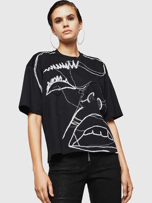 TELIX, Noir - T-Shirts