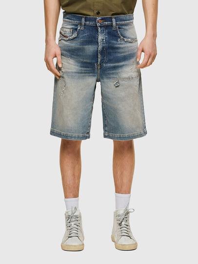 Diesel - D-MACS-SHORT, Bleu Clair - Shorts - Image 1