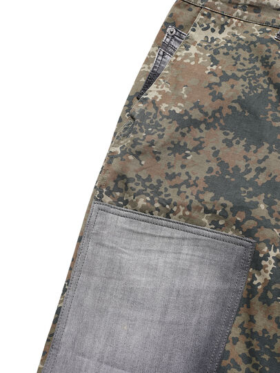 Diesel - D-ONT-HURT-ME, Vert Camouflage - Pantalons - Image 3