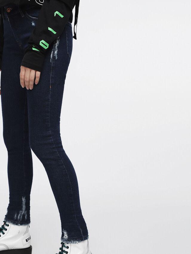 Diesel - Slandy 084ZA, Bleu Foncé - Jeans - Image 5