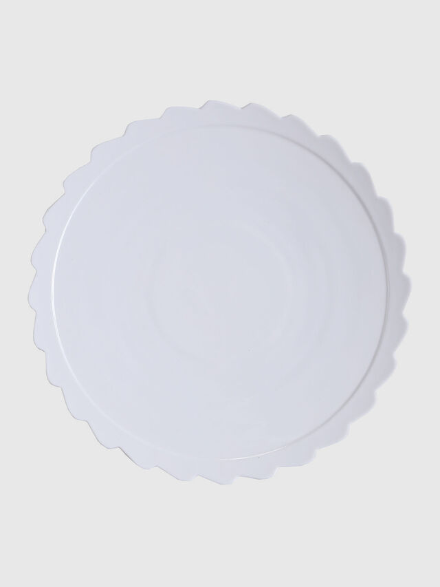 Diesel - 10992 MACHINE COLLEC, Blanc - Assiettes - Image 1