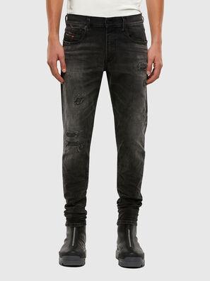 D-Strukt 069RC, Noir/Gris foncé - Jeans